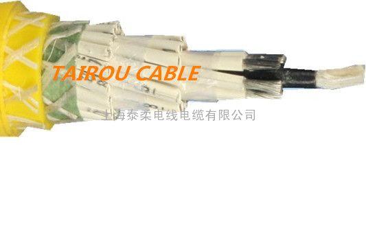 抗拉防断芯垃圾吊抓斗电缆