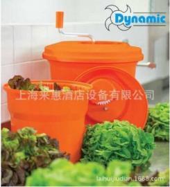 法国原装Dynamic 动力蔬菜甩干桶色拉桶沥水桶脱水器10L商用