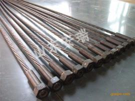 供应煤矿用中空注浆锚索螺纹结构锚杆体 便于切割和接长