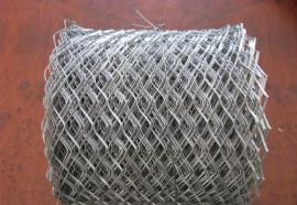 厂家生产空心墙砖带网――菱形孔钢板冲压砖带网一平米价格