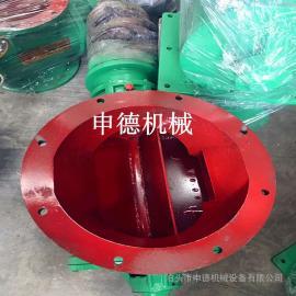 工业卸灰阀星型从轮给料机_自动机械法兰星型卸盛器