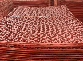 工地高空防滑脚手架钢笆片――钢板冲压钢笆片――拉伸钢板网规格