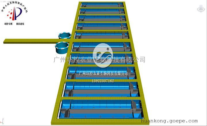 大棚循环水养殖设备循环水养鱼工厂化水产养殖设备