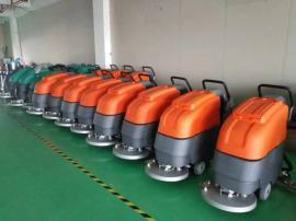 手推式工业用电瓶洗地机工厂车间物业保洁用刷地机现货