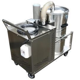 2200W涡轮电机工业吸尘器长时间工作吸颗粒铁屑焊渣吸尘器现货