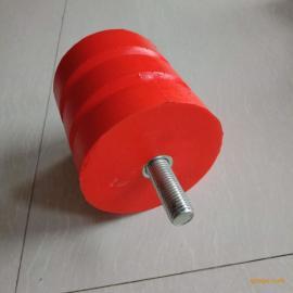 JHQ-A聚氨酯缓冲器 红色防撞器