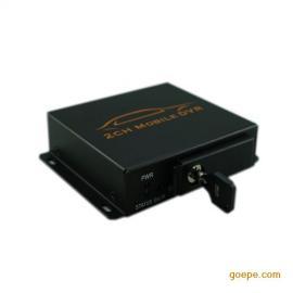 2路车载录像机两路DVR双路行车记录仪128G出租车公交30帧实时