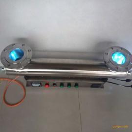 304不绣钢紫外线杀菌器厂家 泳池水纯水消毒设备图片