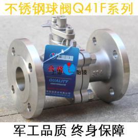 不锈钢球阀|Q41F-16P不锈钢304法兰球阀 软密封 厂家直销