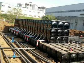 不锈钢泵房水箱 组合保温消防工程水箱 地埋箱泵一体化供水设备
