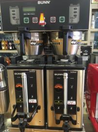 BUNN�p�^液晶智能�_泡咖啡�C邦恩DUAL SH DBC美式蒸�s咖啡�C