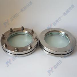 专业生产不锈钢平焊法兰视镜 焊接法兰对夹视镜 焊接玻璃板视镜