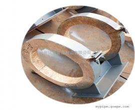 蛭石隔热型管托适用于高温管道 DN500蛭石隔热滑动管托