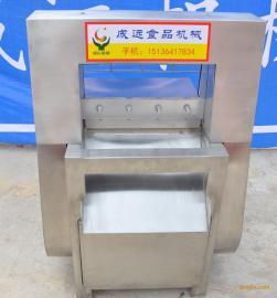 全自动冻肉切片机冷冻肉切片机
