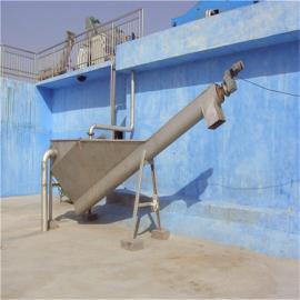 螺旋式砂水分离器结构特征