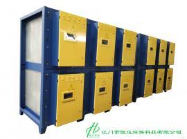 高效UV光氧催化紫外光解除臭设备