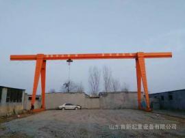 龙门吊厂家直销,10吨葫芦龙门吊厂家,MH箱型葫芦门式起重机