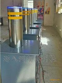 LED不锈钢升降柱,遥控反恐防撞柱
