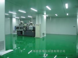 万级无尘室工程/百级防静电洁净棚/防静电风淋室