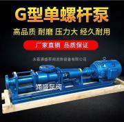 G25-1单螺杆泵、调速螺杆泵、浓浆泵、料液输送G型单转子螺杆泵
