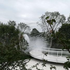 雾森系统、园博园雾森降尘降温除尘系统安装