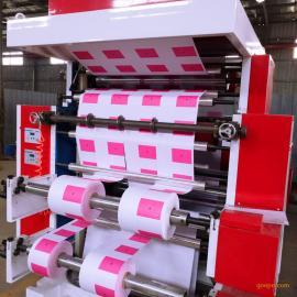 供应2色柔性凸版印刷机带分切耐磨着力强精度高