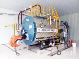 纺织厂用4吨燃气蒸汽锅炉参数