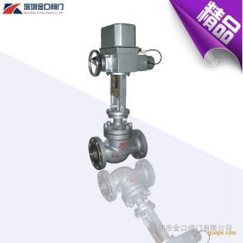 供应ZAZM电动调节阀 机械式电动压力调节阀 电动套筒调节阀