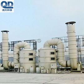 喷淋塔水雾设备 水喷淋净化塔价格清大环保鲍尔环