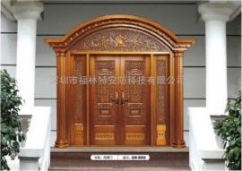 别墅纯铜门知名厂家|优质纯铜门