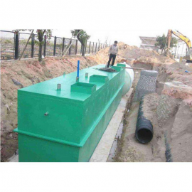 玻璃钢生活污水处理装置设备