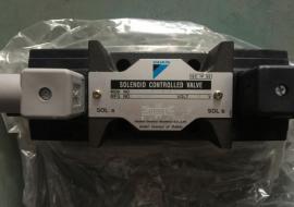滑阀式换向阀结构,日本DAIKIN大金手动阀DMO4-3G03-4N