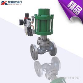 ZSQK煤气切断阀 进口式防爆气动切断阀 常开煤气气动切断阀
