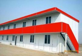 单、双层活动板房厂家生产安装,量大可来图定制尺寸。