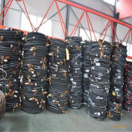 厂家直销耐油耐酸碱高压胶管 大口径法兰式胶管总成