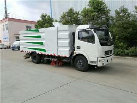 东风D7路面清扫车售价_1吨小型扫路车