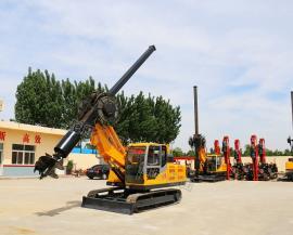 履带式旋挖钻机小型旋挖机 直供旋挖机 地基打桩机