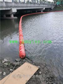 湖面河道拦截漂浮物塑料浮筒 垃圾拦截聚乙烯塑料浮筒