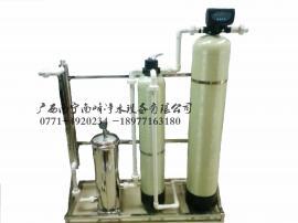 宾阳井水发黄净水器器-桂龙泉井水除铁锰过滤器-井水消毒设备-