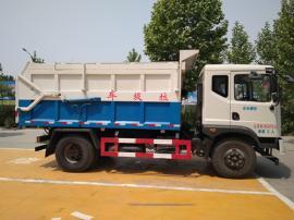 厢体带加热保温功能的10立方含水污泥运输车报价