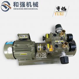 出售YUXU宇旭真空泵 WQB15-P-V-01旋片式无油泵 印刷机气泵