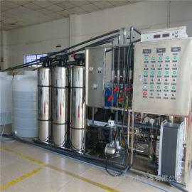 华兰达厂家热销不锈钢超纯水设备 食品厂EDI反渗透设备
