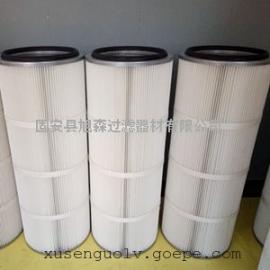 钻机集尘器除尘滤芯_旭森进口PTFE覆膜高精度滤筒生产厂家