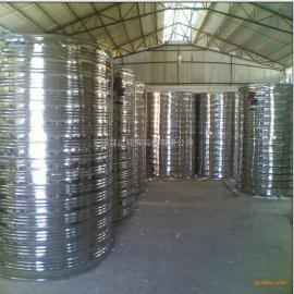 供应宜达厂家直销周边地区圆柱形不锈钢保温水箱