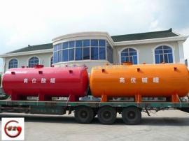 150m3钢衬塑防腐滚塑储罐 钢衬塑管道供应