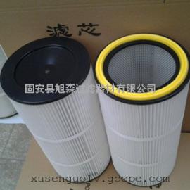 工业除尘设备配套3266通用除尘滤筒_高效粉末回收滤筒旭森制造