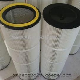 除尘器设备配套滤筒 厂家直销 工业防爆除尘滤筒除尘器滤筒