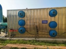 污水设备处理 厂家直销 生物滤池除臭成套设备 生物除臭塔