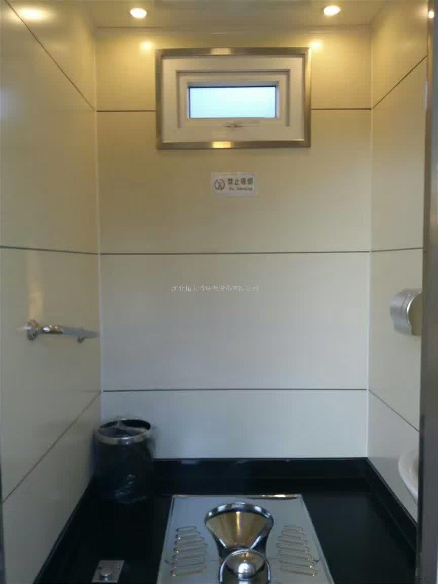 仿古造型移动环保旅游厕所-图1