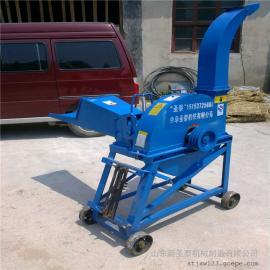 玉米秸秆切碎机器 移动式铡草机型号 圣泰牌铡草机作用